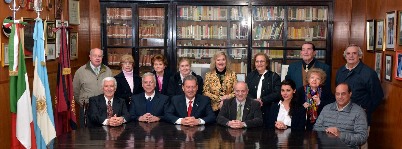 Comisión Directiva de la Sociedad Italiana en Salta, Argentina