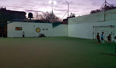 Escuela de Fútbol de la Sociedad Italiana en Salta, Argentina