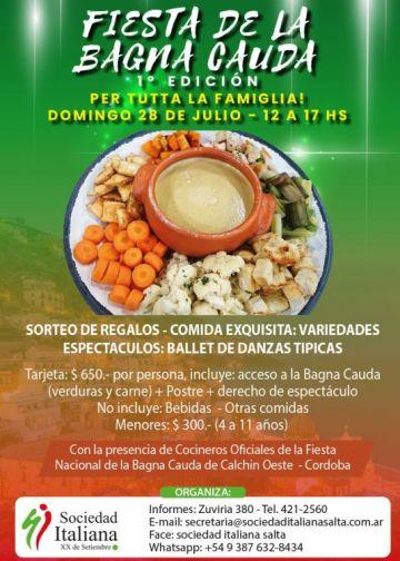 FIESTA DE LA BAGNA CAUDA - 1ª Edición